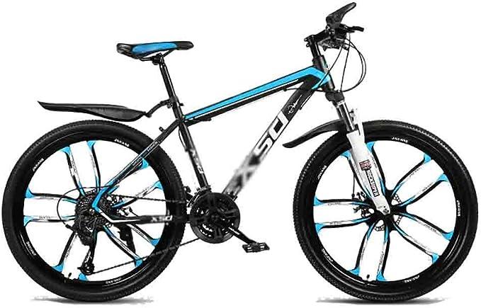 Bicicleta para joven Bicicletas De carretera Bicicletas carretera adolescente adulto Bicicletas MTB Bicicleta Ciudad Amortiguador de bicicletas de montaña de velocidad ajustable for hombres y mujeres: Amazon.es: Hogar