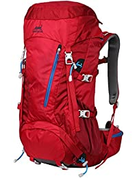 50L Backpack Hiking Mountain Bag Daypack Rucksack Outdoor Sports Hiking Trekking Mountaineering Camping Travel Mens Womens Lightweight Water-resistant Anti- scratch Nylon