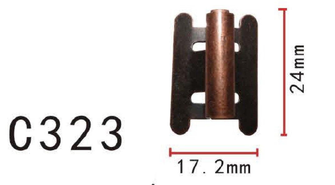 10x 9 MM Avant Arrière Pare-chocs grille grill clips FORTOYOTA Lexus 90467-09143
