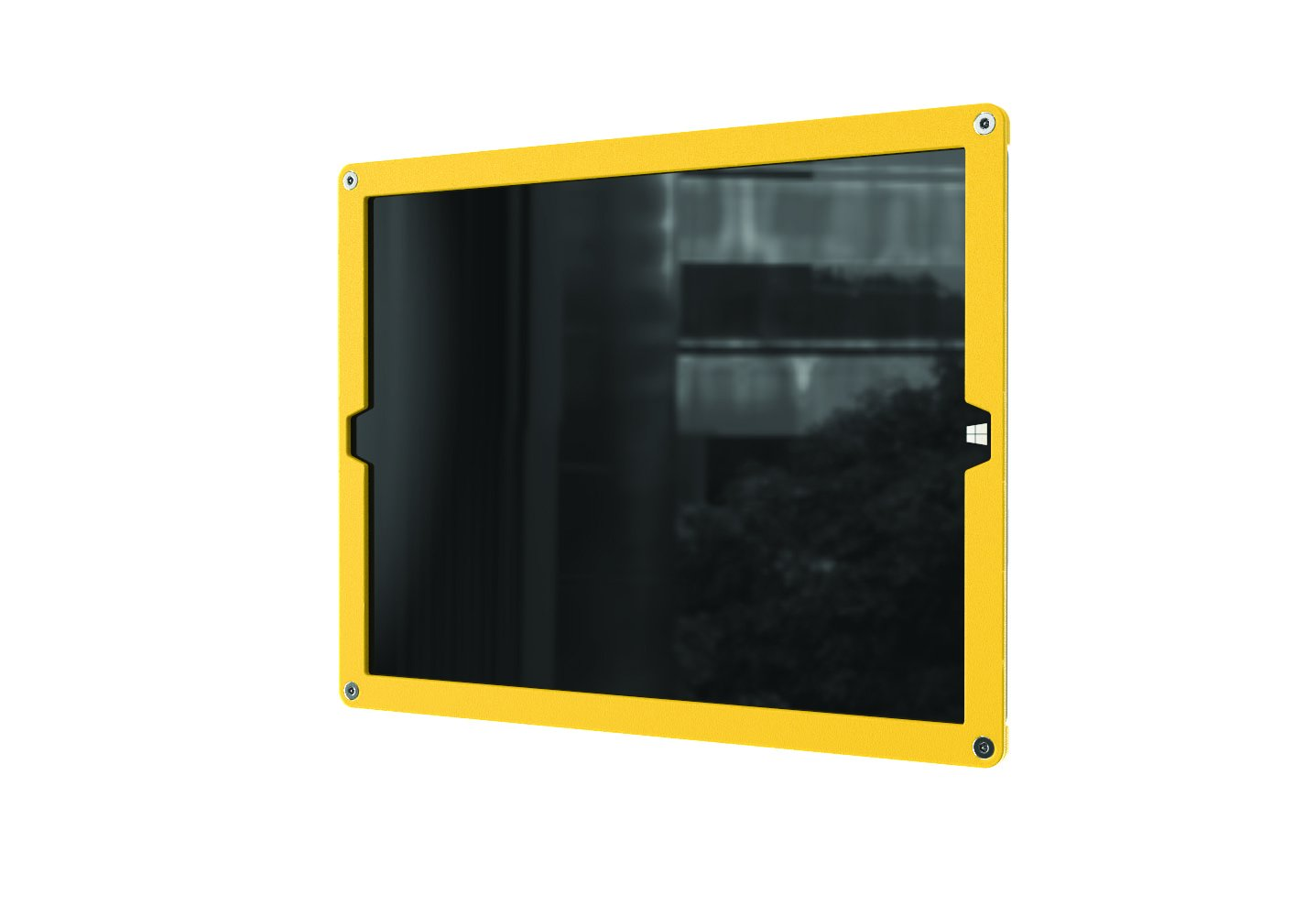 Windfall Wall Frame for Surface Pro 3, Bright Yellow