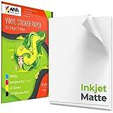 Printable Vinyl Sticker Paper for Inkjet Printer