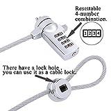 Laptop Key Lock Security Cable Lock Tablet Lock