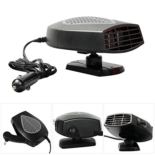 Vehicle Heater,Sundlight 12V Portable Car Heater Cooling Heater Fan Defroster: Kitchen & Home