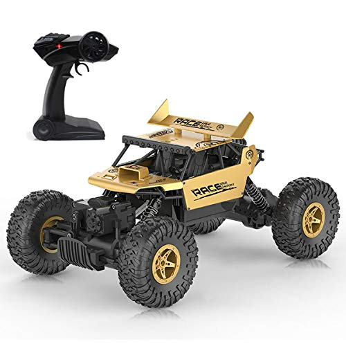 KOLAMAMA Remote Control Car,RC Car for Kids&Adults,2.4Ghz 4WD High Speed 1/18 Scale Electric Racing Car Off Road Vehicle Toy