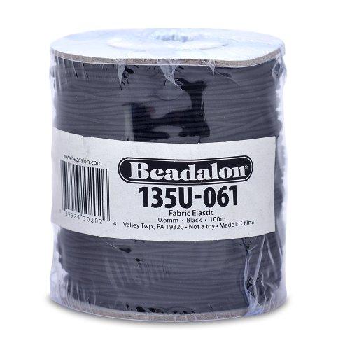 Beadalon Fabric Elastic 0 6mm 100 Meter