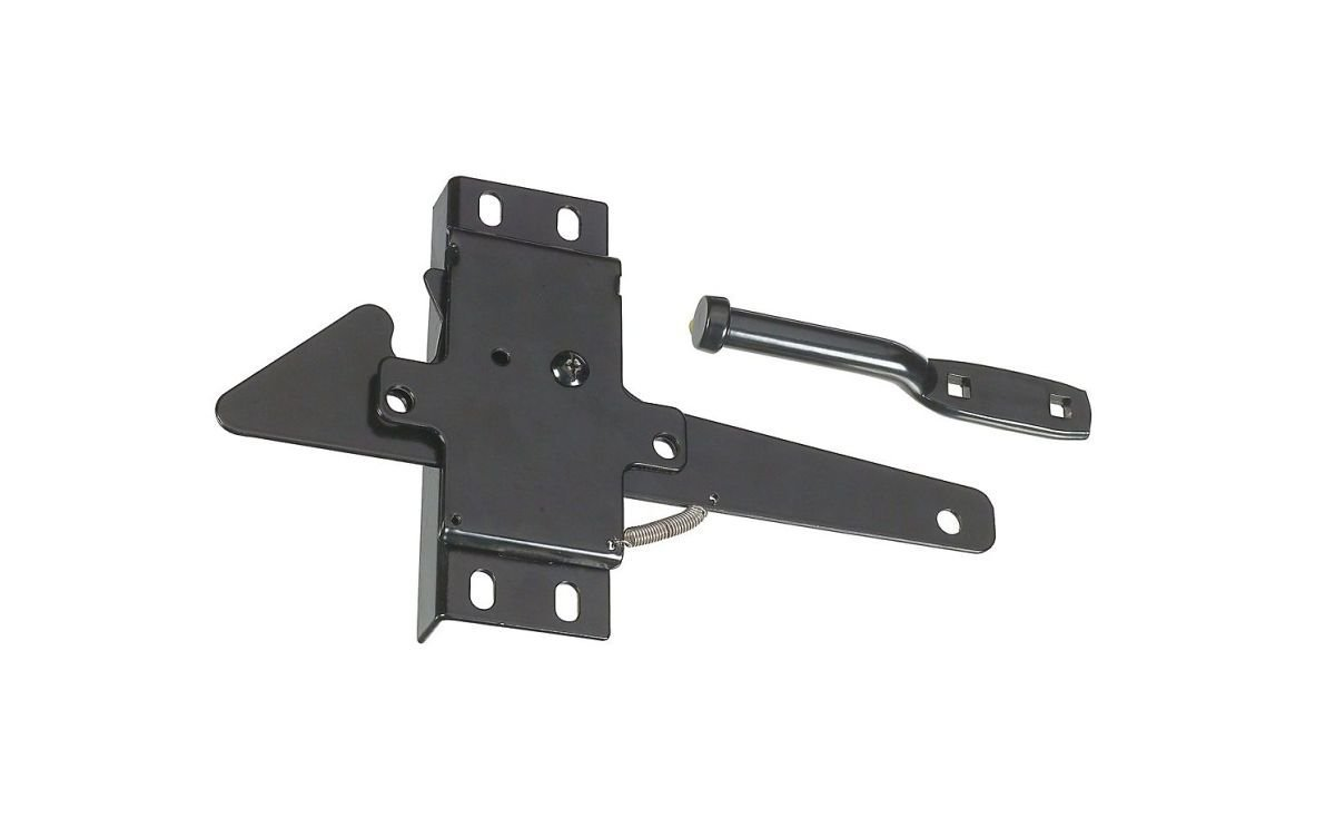 Stanley Hardware S622-343 CD1494 Professional Choice  Heavy Duty Post Latch in Black