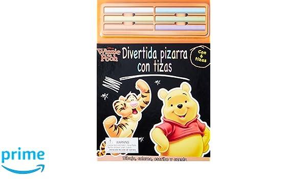 Disney Winnie the Pooh: Divertida pizarra con tizas (Spanish ...
