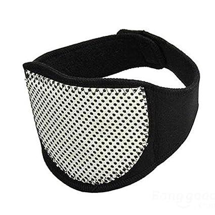 Cervicales, favolook ajustable suave apoyo cuello terapia magnética tourmalink almohadilla de cuello protección espontánea Autocalentamiento cinturón ...