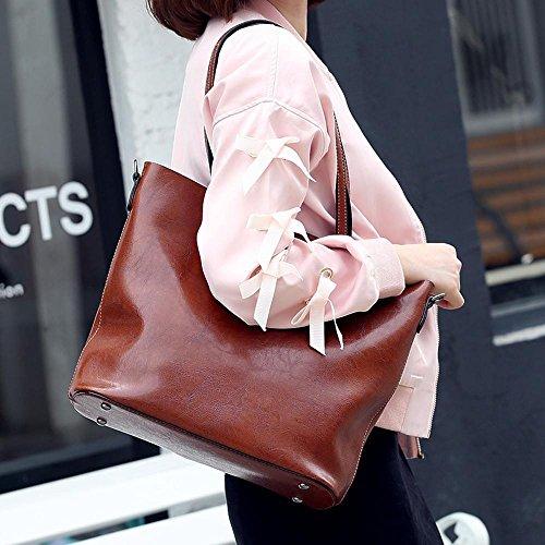phone oblique women mobile Brown multifunction Axiba bags Single bag cross shoulder d8fxwp6qpB