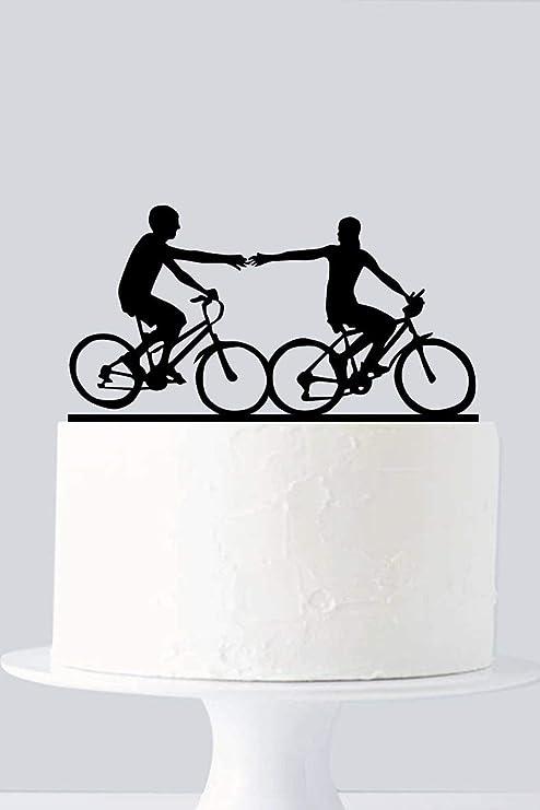 Rummy 810223 - Decoración para tarta de bicicleta, diseño de ...
