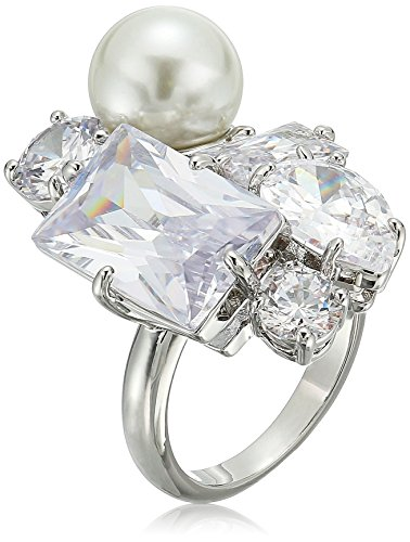 Stone Cluster Ring (betsey johnson