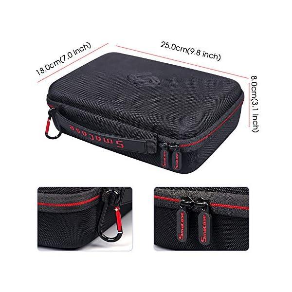Smatree Custodia Rigida Compatibile con DJI Osmo Pocket 2 / DJI Osmo Pocket Camera, custodia portatile per modulo wireless, rotella controller, custodia di ricarica e altri accessori 3 spesavip