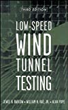 img - for Low-Speed Wind Tunnel Testing book / textbook / text book