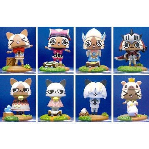 Monster Hunter trading mascot airou village unidentified people Vol.2 BOX