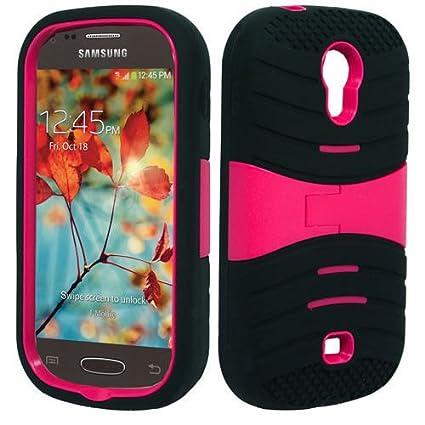official photos ef4fb 81cc8 NP CITY Phone Case ARMOR Cover For Samsung Galaxy Light T399 / SGH-T399  (sBLACK/PINK U/C)