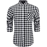 BUTTONED DOWN Men's Classic Fit Supima...