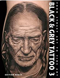 Black & Grey Tattoo 3 - Photorealism/Portrait
