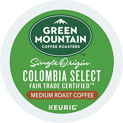 Green Mountain Coffee Roasters Colombian Unbiased Trade Select Keurig Single-Serve K-Cup Pods, Medium Roast Coffee, 12 Count (Pack Of 6) (Package May Vary)
