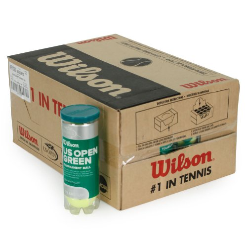 Wilson WRT137500CS US Open Green Tournament Tennis Ball Case