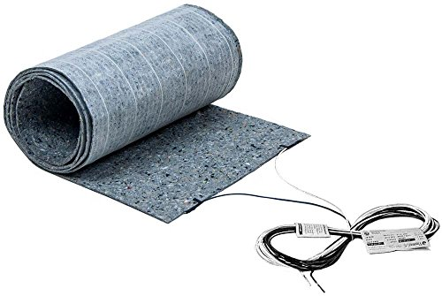 7.5 sq. ft, 120V. In-Floor Heated Underlayment for Laminate Flooring and Engineered Wood Floor Heating (1.5 ft. x 5 ft.) ThermoFloor Model TF1505-120 - Other Sizes Available