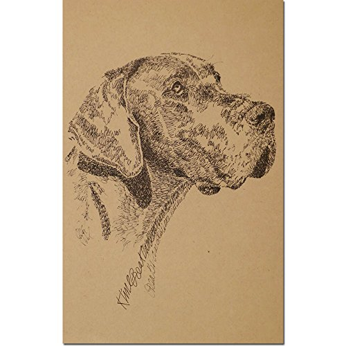 Stephen Kline Great Dane Lithograph by