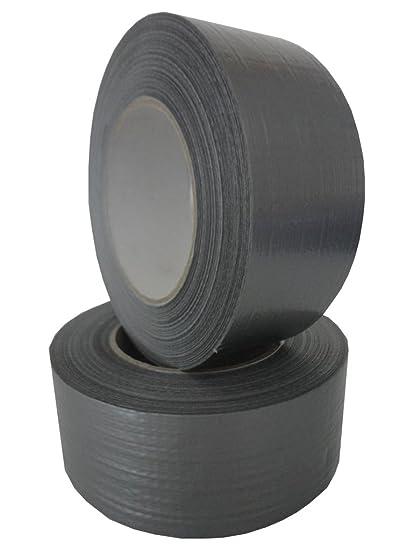 Panzerband schwarz 48 mm x 50 m 1 Rolle Gewebeband