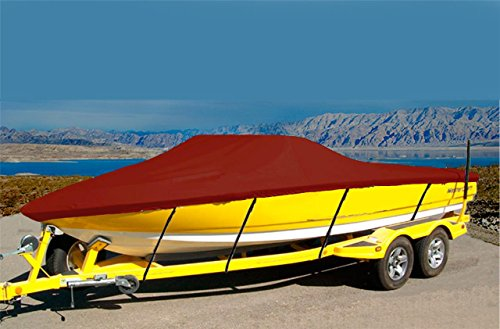 7oz SOLUTION DYED POLYESTER MATERIAL-CUSTOM FIT EXACT FIT BOAT COVER SEA HUNT ULTRA 196 W/O SKI TOW BAR 2013-2017