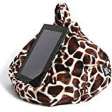 iBeani iPad & Tablet Stand/Bean Bag Cushion Holder for All Devices/Any Angle on Any Surface - Baby Giraffe