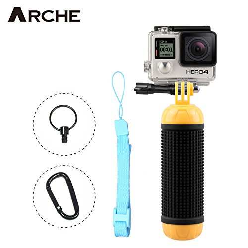 ARCHE Multifunctional Floating Hand Grip Bar for GoPro Fusion/Hero 6 Black Hero 6/5/Hero 5 Black/5 Session/4/3/3+/2/Hero Session by ARCHE