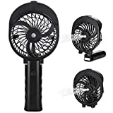 Peyou Misting Handheld Fan, [180° Foldable ] Portable Cooling Fan, Spray Water Personal Fan & Cooling Humidifier 2 in 1, USB or Rechargeable Battery Powered, 3 Settings Mini Mister Fan