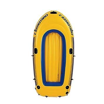 SS Kayak Bote Inflable, Portátil con Pala, Adecuado para La ...