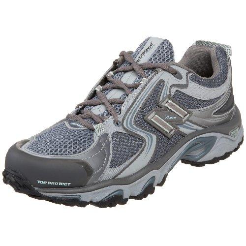 Cheap New Balance Women's Wt910 Trail Shoe,Grey/Blue,10 B