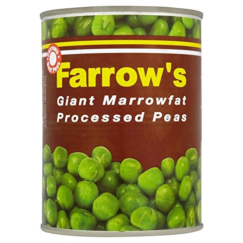 Farrow's Giant Marrowfat Processed Peas (538g) - Pack of 6 by Farrow's