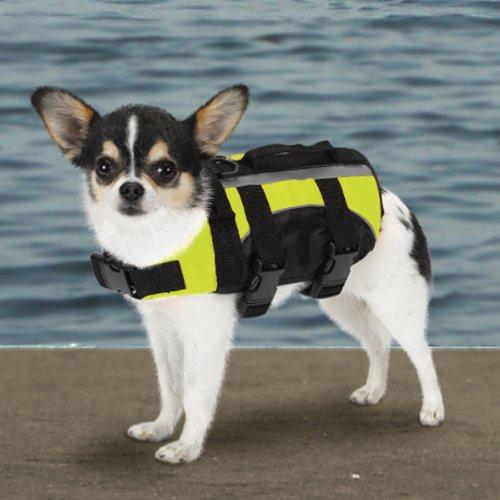 Guardian Gear Aquatic Dog Preserver, Teacup, 6-Inch, Yellow