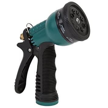 MLG 8 Mode Hose Nozzle / Hand Sprayer   7 Spray Settings Water Saving