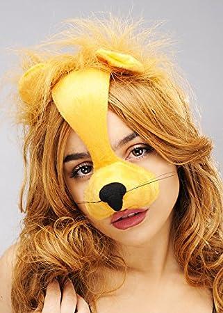 Máscara de León casco diadema