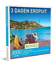 Bongo Bon - 3 Dagen Eropuit | Cadeaubonnen Cadeaukaart cadeau voor man of vrouw | 3000 hotels en gastenverblijven