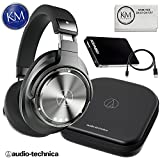 Audio-Technica ATH-DSR9BT Wireless Over-Ear Headphones with Pure Digital Drive + Portable Power Bank