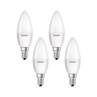 Osram 819610 - Pack de 4 Bombillas LED E14, 5 W, 4 Unidades,