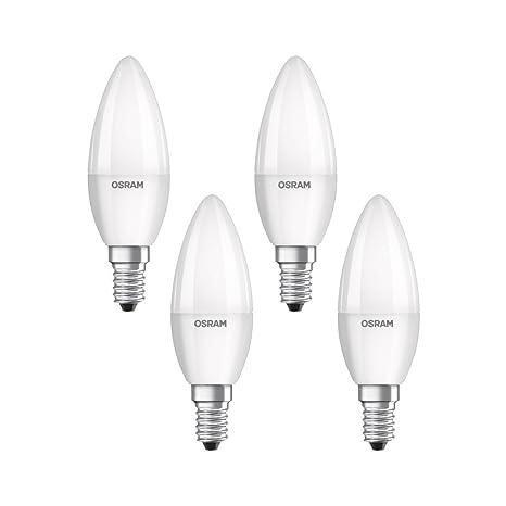 Osram 819474 Bombilla LED E14, 5.7 W, Blanco 4 Unidades