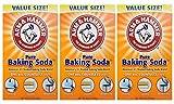 Arm & Hammer Baking Soda-4LB (01170) Pack of 3