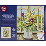 Dimensions Needlecrafts Paintworks Paint By Number, Sunshine Floral