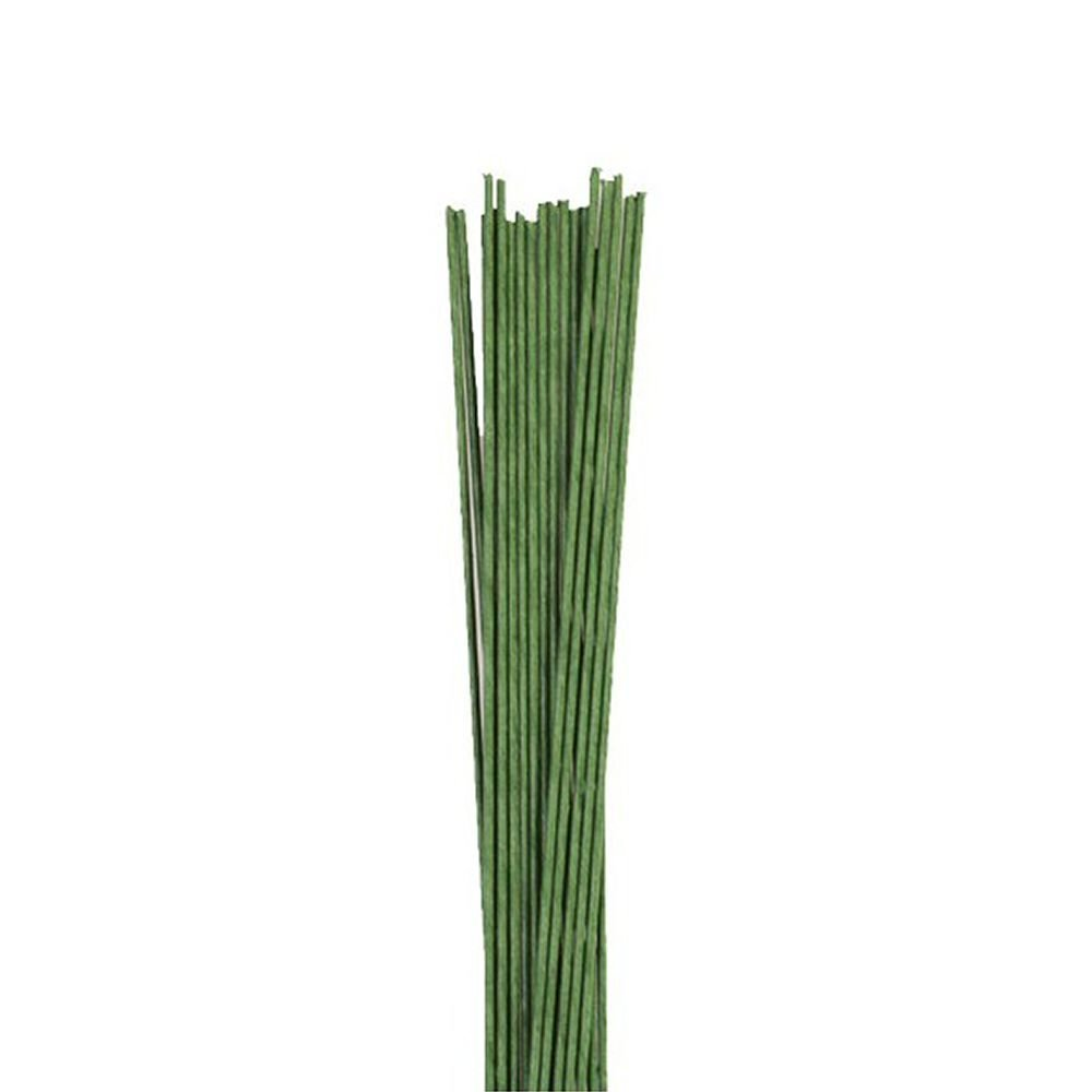 Floral Wire - Dark Green 18 Gauge - Pack of 20 Culpitt 1381G