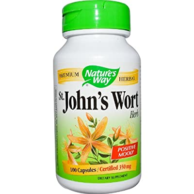 Nature's Way St. John's Wort 100 caps