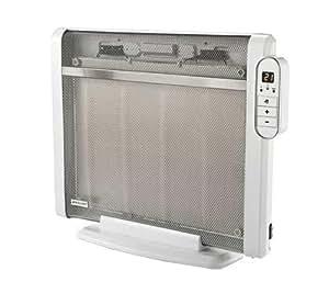 Bionaire BPH1520 - Panel calefactor de mica digital, 1500 W