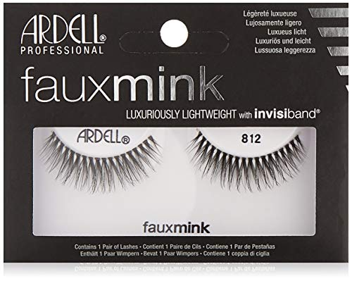 Ardell Faux Mink #812 Black Lashes (6 Pack)