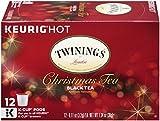k cups christmas - Twinings Christmas Tea, Keurig K-Cups, 12 Count
