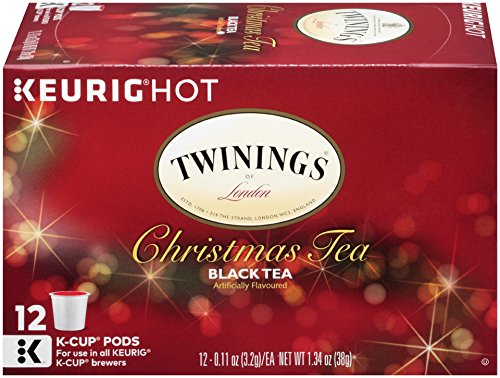 Twinings Christmas Tea, Keurig K-Cups, 12 (A Cup Of Christmas Tea)