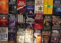 Dean Koontz Horror Novel Collection 21 Book Set Odd Thomas, The Taking, Odd Apocalypse, The Whispering Room, Twilight Eyes, Demon Seed, The Husband, Strange Highways, The Eyes of Darkness, The Good Guy, Tick Tock, Dark Rivers of the Heart, Od...