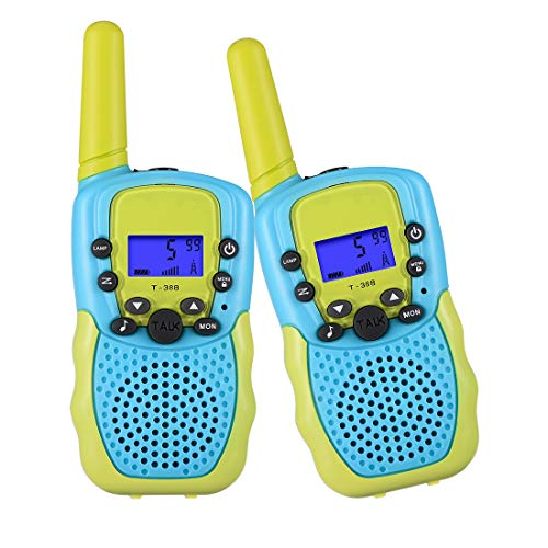 SnowCinda Toys for 4-6 Year Old Boys,Walkie Talkies for Kids with 22 Channels 2 Way Radio 3 Miles Long Range Toy for Outside Adventures,Best Gifts for Boys and Girls Age 3-5 (Best Toys For 5 8 Year Olds)